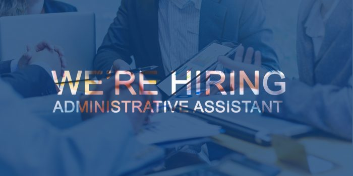 Call for Administrative Assistant position