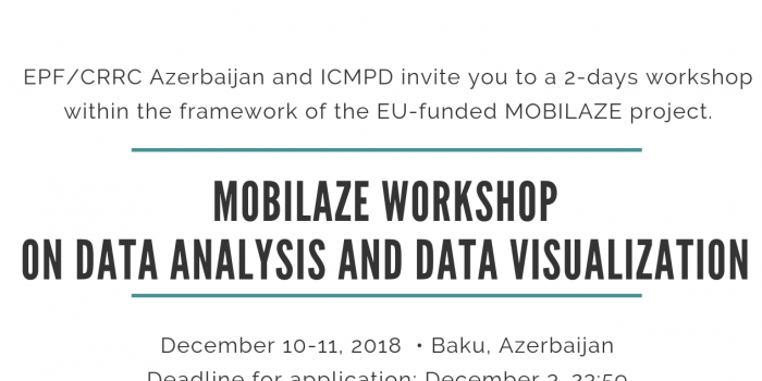 MOBILAZE workshop on data analysis and data visualization