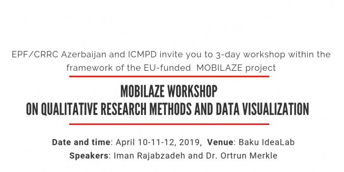 MOBILAZE Workshop on Qualitative Research Methods And Data Visualization