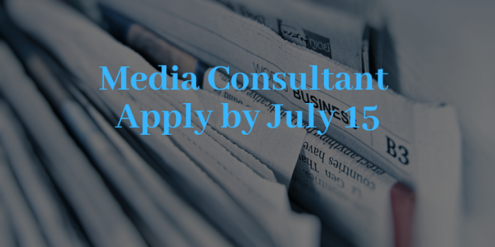 Terms Of Reference For Media Analyst Consultant