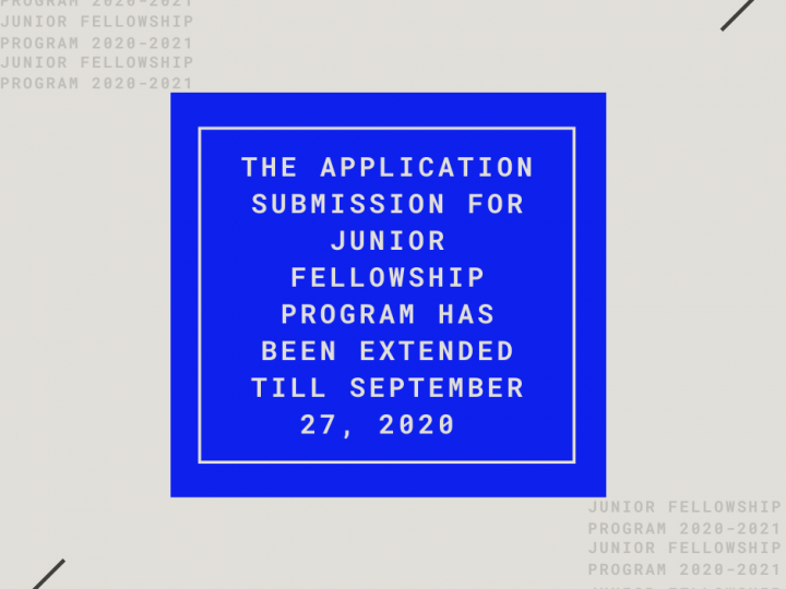 JUNIOR FELLOWSHIP PROGRAM 2020-2021