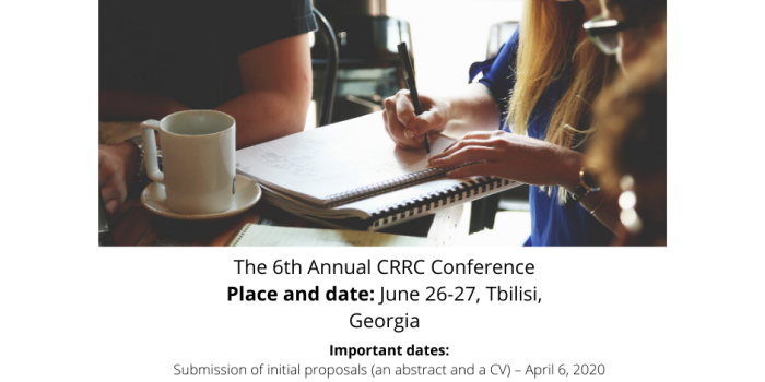 The 6th Annual CRRC Conference